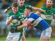 9 November 2014; Graham Brody, Portlaoise, in action against Shane Carthy, St Vincent's. AIB Leinster GAA Football Senior Club Championship, Quarter-Final, Portlaoise v St Vincent's, O'Moore Park, Portlaoise, Co. Laois. Picture credit: Pat Murphy / SPORTSFILE