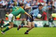 17 June 2007; Diarmuid Connolly, Dublin, in action against Caoimhin King, Meath. Bank of Ireland Leinster Senior Football Championship Quarter-Final Replay, Dublin v Meath, Croke Park, Dublin. Picture credit: Pat Murphy / SPORTSFILE