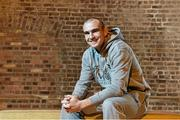 12 November 2014; Anthony Fitzgerald after a press conference ahead of his bout against Spike O'Sullivan on Saturday. Smock Alley Theatre, Dublin. Picture credit: Ramsey Cardy / SPORTSFILE