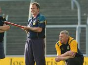 12 June 2007; Manager Colm Coyle and Selector Tommy Dowd oversee Meath training in advance of the Bank of Ireland Leinster Senior Football Champoinship Replay against Dublin on Sunday. Pairc Tailteann, Navan, Co. Meath. Picture credit Paul Mohan / SPORTSFILE