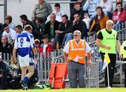 7 July 2007; Antrim manager Terence McNaughton looks on as Shane Dollard, Laois, is sent off. Guinness All-Ireland Senior Hurling Championship Qualifier, Group 1A, Round 2, Antrim v Laois, Casement Park, Belfast, Co. Antrim. Picture credit: Russell Pritchard / SPORTSFILE