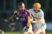 23 November 2014; Damien Kelly, Kilmacud Crokes, in action against James 'Cha' Fitzpatrick, Ballyhale Shamrocks. AIB Leinster GAA Hurling Senior Club Championship Semi-Final, Kilmacud Crokes v Ballyhale Shamrocks. Parnell Park, Dublin. Picture credit: Stephen McCarthy / SPORTSFILE
