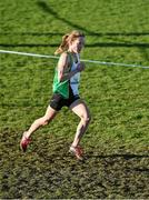 23 November 2014; Fionnuala Britton, Kilcoole AC, Co. Wicklow, on her way to winning the Senior Women's 8000m race at the GloHealth Inter County & Juvenile Even Age Cross Country Championships. Dundalk Institute of Technology, Dundalk, Co. Louth. Picture credit: Ramsey Cardy / SPORTSFILE