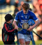 23 November 2014; Padraic Collins, Cratloe, signs an autograph for a young supporter after defeat to Kilmallock. AIB Munster GAA Hurling Senior Club Championship Final, Kilmallock v Cratloe. Gaelic Grounds, Limerick. Picture credit: Diarmuid Greene / SPORTSFILE