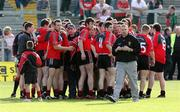 7 July 2007; The Down team with managers DJ Kane and Ross Carr. Bank of Ireland All-Ireland Senior Football Championship Qualifier, Round 1, Down v Meath, Pairc Esler, Newry, Co. Down. Picture credit: Oliver McVeigh / SPORTSFILE