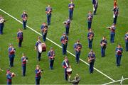 28 September 2014; The Artane Band perform before the game. TG4 All-Ireland Ladies Football Senior Championship Final, Cork v Dublin. Croke Park, Dublin. Picture credit: Ray McManus / SPORTSFILE