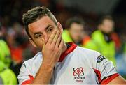 28 November 2014; Ulster's Ian Humphreys looks on dejectedly after the game. Guinness PRO12, Round 9, Munster v Ulster, Thomond Park, Limerick. Picture credit: Diarmuid Greene / SPORTSFILE