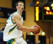 27 July 2007; Conor Grace, Ireland. Men's Senior International Basketball Friendly, Ireland v Luxembourg, National Basketball Arena, Tallaght, Dublin. Picture credit: Pat Murphy / SPORTSFILE
