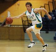 27 July 2007; Ian O'Boyle, Ireland. Men's Senior International Basketball Friendly, Ireland v Luxembourg, National Basketball Arena, Tallaght, Dublin. Picture credit: Pat Murphy / SPORTSFILE