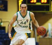 27 July 2007; Steven King, Ireland. Men's Senior International Basketball Friendly, Ireland v Luxembourg, National Basketball Arena, Tallaght, Dublin. Picture credit: Pat Murphy / SPORTSFILE