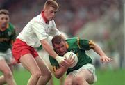 18 August 1996; Tommy Dowd, Meath, in action against Ciaran McBride, Tyrone. All-Ireland Football Semi-Final, Meath v Tyrone, Croke Park, Dublin. Picture credit; Brendan Moran / SPORTSFILE