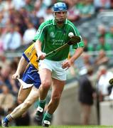 29 July 2007; Brian Begley, Limerick. Guinness All-Ireland Senior Hurling Championship Quarter-Final, Clare v Limerick, Croke Park, Dublin. Picture credit; Ray McManus / SPORTSFILE