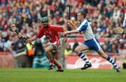 5 August 2007; Jerry O'Connor, Cork, in action against Eoin Kelly, Waterford. Guinness All-Ireland Hurling Championship Quater-Final Replay, Cork v Waterford, Croke Park, Dublin. Picture credit; Matt Browne / SPORTSFILE