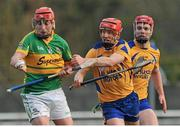 14 December 2014; Jason Grealish, Gort, in action against Ollie Canning, Portumna. Galway County Senior Hurling Championship Final, Portumna v Gort, Kenny Park, Athenry, Co. Galway. Picture credit: Ray Ryan / SPORTSFILE