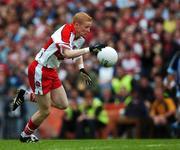 11 August 2007; Colin Devlin, Derry. Bank of Ireland All-Ireland Senior Football Championship Quarter-Final, Dublin v Derry, Croke Park, Dublin. Picture credit; Ray McManus / SPORTSFILE
