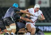 20 December 2014; Rory Best, Ulster, carries the ball from a ruck. Guinness PRO12, Round 10, Ospreys v Ulster, Liberty Stadium, Swansea, Wales. Picture credit: Steve Pope / SPORTSFILE