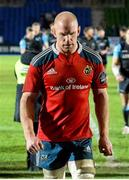 20 December 2014; Paul O'Connell, Munster, leaves the field dejectedly after the game. Guinness PRO12, Round 10, Glasgow Warriors v Munster, Scotstoun Stadium, Glasgow, Scotland. Picture credit: Gary Hutchison / SPORTSFILE