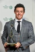 21 December 2014;  Rory McIlroy, who was nominated for the RTE Sport Person of the Year, at the RTÉ Sports Awards 2014. RTÉ Studios, Donnybrook, Dublin. Picture credit: David Maher / SPORTSFILE