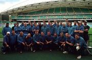 3 June 1999; Ireland players during a tour of Stadium Australia, home of the 2000 Olympic Games, in Sydney, Australia. Photo by Matt Browne/Sportsfile