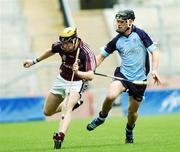 9 September 2007; Martin Ryan, Galway, in action against Diarmuid Connolly, Dublin. Erin All-Ireland Under 21 Hurling Championship Final, Dublin v Galway, Croke Park, Dublin. Picture credit; Paul Mohan / SPORTSFILE *** Local Caption ***