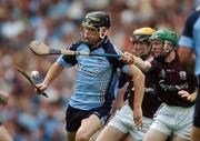 9 September 2007; Diarmuid Connolly, Dublin, in action against Alan Leech, Galway. Erin All-Ireland Under 21 Hurling Championship Final, Dublin v Galway, Croke Park, Dublin. Picture credit; Brian Lawless / SPORTSFILE