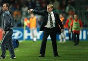 12 September 2007; Steve Staunton, Republic of Ireland manager, during the game. 2008 European Championship Qualifier, Czech Republic v Republic of Ireland, Sparta Prague Stadium, Prague, Czech Republic. Picture Credit: David Maher / SPORTSFILE *** Local Caption ***