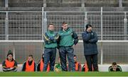 11 January 2015; Temporary Kerry manager Darragh O Sé, centre, with his selectors Seamus Moynihan, right, and John Shanahan. McGrath Cup, Quarter-Final, Kerry v IT Tralee, Austin Stack Park, Tralee, Co. Kerry. Picture credit: Brendan Moran / SPORTSFILE