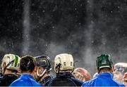 20 January 2015; Dublin players during their pre-match warm-up. Bord na Mona Walsh Cup, Group 2, Round 2, Dublin v DIT, Parnell Park, Dublin. Picture credit: Barry Cregg / SPORTSFILE