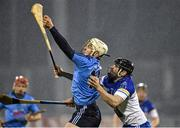 20 January 2015; Liam Rushe, Dublin, in action against Brian Carey, DIT. Bord na Mona Walsh Cup, Group 2, Round 2, Dublin v DIT, Parnell Park, Dublin. Picture credit: Barry Cregg / SPORTSFILE