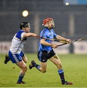 20 January 2015; Niall McMorrow, Dublin, in action against Sean McClelland, DIT. Bord na Mona Walsh Cup, Group 2, Round 2, Dublin v DIT, Parnell Park, Dublin. Picture credit: Barry Cregg / SPORTSFILE