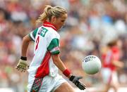 23 September 2007; Sharon McGing, Mayo. TG4 All-Ireland Ladies Senior Football Championship Final, Cork v Mayo, Croke Park, Dublin. Picture credit; Matt Browne / SPORTSFILE
