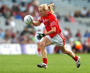 23 September 2007; Nollaig Cleary, Cork. TG4 All-Ireland Ladies Senior Football Championship Final, Cork v Mayo, Croke Park, Dublin. Picture credit; Matt Browne / SPORTSFILE