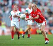 23 September 2007; Nollaig Cleary, Cork.TG4 All-Ireland Ladies Senior Football Championship Final, Cork v Mayo, Croke Park, Dublin. Picture credit; Matt Browne / SPORTSFILE