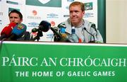 12 October 2007; Republic of Ireland manager Steve Staunton during a press conference. Croke Park, Dublin. Picture credit; David Maher / SPORTSFILE