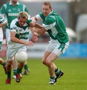 14 October 2007; Craig Rogers, Portlaoise, in action against Darragh McEvoy, Stradbally. Laois Senior Football Championship Final, Portlaoise v Stradbally. O'Moore Park, Portlaoise. Picture credit; Pat Murphy / SPORTSFILE