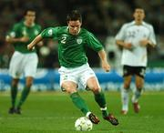 13 October 2007; Steve Finnan, Republic of Ireland. 2008 European Championship Qualifier, Republic of Ireland v Germany, Croke Park, Dublin. Picture credit; David Maher / SPORTSFILE