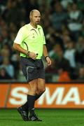 13 October 2007; Referee Martin Hansson. 2008 European Championship Qualifier, Republic of Ireland v Germany, Croke Park, Dublin. Picture credit; Paul Mohan / SPORTSFILE