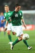 17 October 2007; Republic of Ireland's Robbie Keane. 2008 European Championship Qualifier, Republic of Ireland v Cyprus, Croke Park, Dublin. Picture credit; Brian Lawless / SPORTSFILE