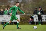 25 January 2015; Dominic Peppard, Republic of Ireland. U15 Soccer International, Republic of Ireland v Scotland, Pat Kennedy Park, Tanavalla, Listowel, Co. Kerry. Picture credit: Brendan Moran / SPORTSFILE