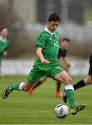 25 January 2015; Jordan Doherty, Republic of Ireland. U15 Soccer International, Republic of Ireland v Scotland, Pat Kennedy Park, Tanavalla, Listowel, Co. Kerry. Picture credit: Brendan Moran / SPORTSFILE