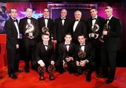 19 October 2007; An Taoiseach Bertie Ahern T.D. with Kerry  Vodafone GAA All-Star award winners, back row from left, Pat O Se, Kerry manager, Colm Cooper, Declan O'Sullivan, Sean Walsh, Chairman of the Kerry County Board, Darragh O Se and Tomas O Se, front row from left, Marc O Se, Killian Young, Young player of the year, and Aiden O'Mahony during the 2007 Vodafone GAA All-Star Awards. Citywest Hotel, Conference, Leisure & Golf Resort, Saggart, Co. Dublin. Picture credit: Brendan Moran / SPORTSFILE