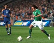 17 October 2007; Stephen Hunt, Republic of Ireland. 2008 European Championship Qualifier, Republic of Ireland v Cyprus, Croke Park, Dublin. Picture credit; Stephen McCarthy / SPORTSFILE