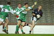 26 October 2007; Colm Cooper, AIB Group, in action against Canice Brennan, Defence Forces. 25th Anniversary Annual Representative Football Match, AIB Group v Defence Forces, Croke Park, Dublin. Picture credit: Pat Murphy / SPORTSFILE