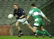 26 October 2007; Colm Cooper, AIB Group, in action against Derek McNamara, Defence Forces. 25th Anniversary Annual Representative Football Match, AIB Group v Defence Forces, Croke Park, Dublin. Picture credit: Pat Murphy / SPORTSFILE