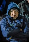 31 January 2015: Clare senior hurling manager Davy Fitzgerald in attendance at the game. Waterford Crystal Cup Final, Cork v Limerick. Mallow GAA Grounds, Mallow, Co. Cork Picture credit: Ramsey Cardy / SPORTSFILE