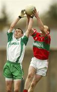 11 November 2007; John McGrath, Baltinglass, in action against Stephen Byrne, Rathnew. Wicklow Senior Football Championship Final Replay, Baltinglass v Rathnew, County Park, Aughrim, Co. Wicklow. Picture credit; Matt Browne / SPORTSFILE