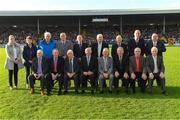 29 October 2017;  Team members and officials as the 1969 All Ireland winning team were honoured at half time in the Kilkenny County Senior Hurling Championship Final match between Dicksboro and James Stephens at Nowlan Park in Kilkenny.  Photo by Ray McManus/Sportsfile