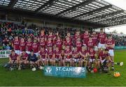 29 October 2017; The Dicksboro squad before the Kilkenny County Senior Hurling Championship Final match between Dicksboro and James Stephens at Nowlan Park in Kilkenny.  Photo by Ray McManus/Sportsfile