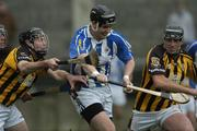 18 November 2007; Enda Kinsella, Ballyboden St. Enda's, Dublin, in action against Colin Delaney and Fran Keenan, Camross, Laois. AIB Leinster Senior Hurling Championship Semi-Final, Ballyboden-St.Enda's, Dublin, v Camross, Laois, Parnell Park, Dublin. Picture credit; Ray Lohan / SPORTSFILE