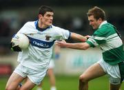 25 November 2007; Diarmuid Connolly, St. Vincent's, in action against Thomas Fitzgerald, Portlaoise. AIB Leinster Senior Club Football Championship Semi-Final, St. Vincent's, Dublin, v Portlaoise, Laois. Parnell Park, Dublin. Picture credit; Caroline Quinn / SPORTSFILE